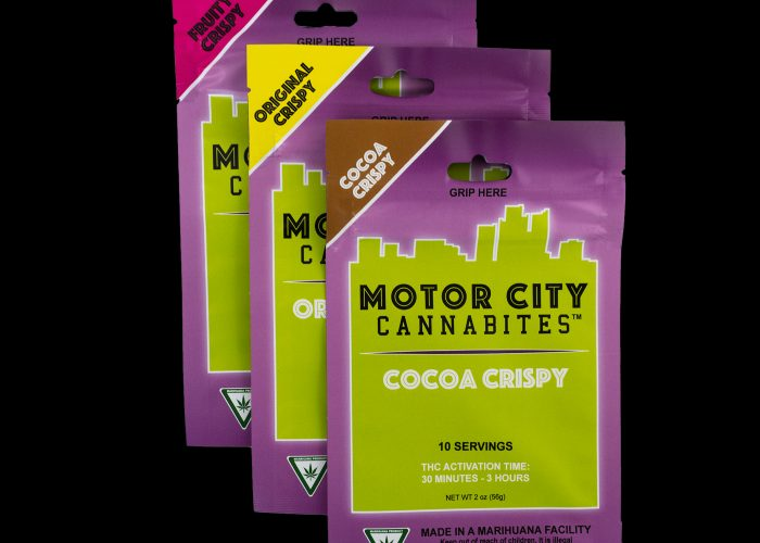 MotorCity Cannabites Crispies Pouch